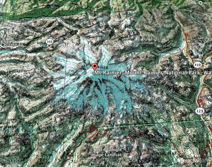 Adding USGS Topographic Maps To Google Earth Using ArcGIS Online - Google maps topo