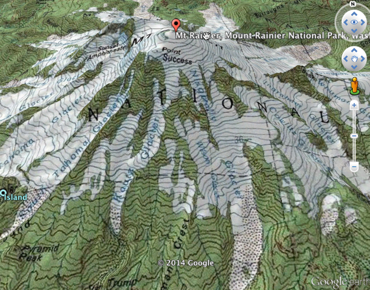 Adding USGS Topographic Maps To Google Earth Using ArcGIS Online - Us elevation map google