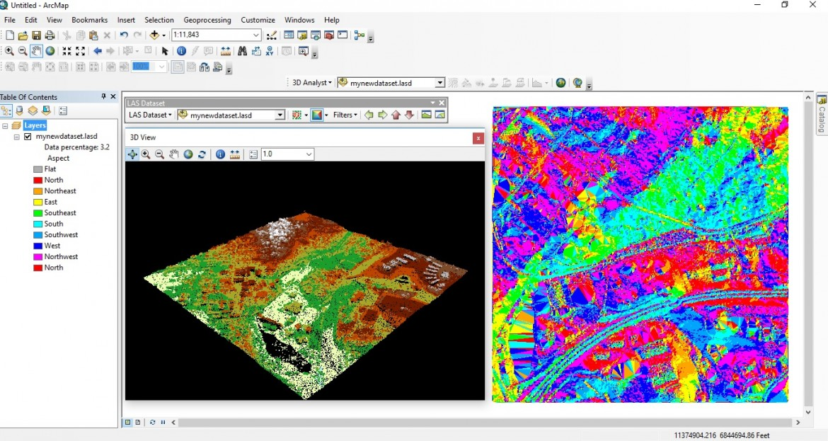 Displaying Lidar in ArcGIS Desktop